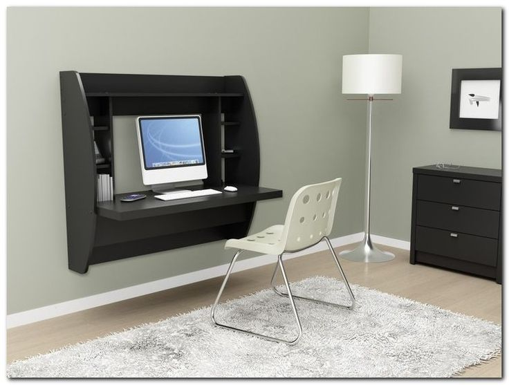 best 20 wall mounted desk ideas on pinterest space. Black Bedroom Furniture Sets. Home Design Ideas