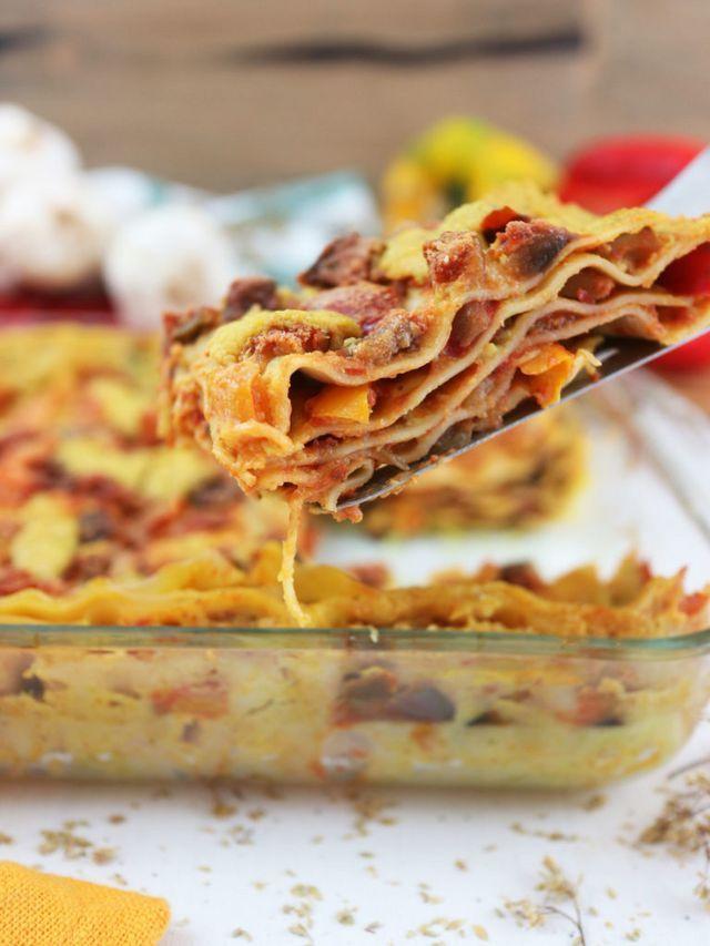 Ricetta Lasagne Vegane.Lasagne Con Zucchine E Melanzane Di Fine Estate Eh Si Vegan Cucina Felice Ricette Zucchine Ricette Vegane