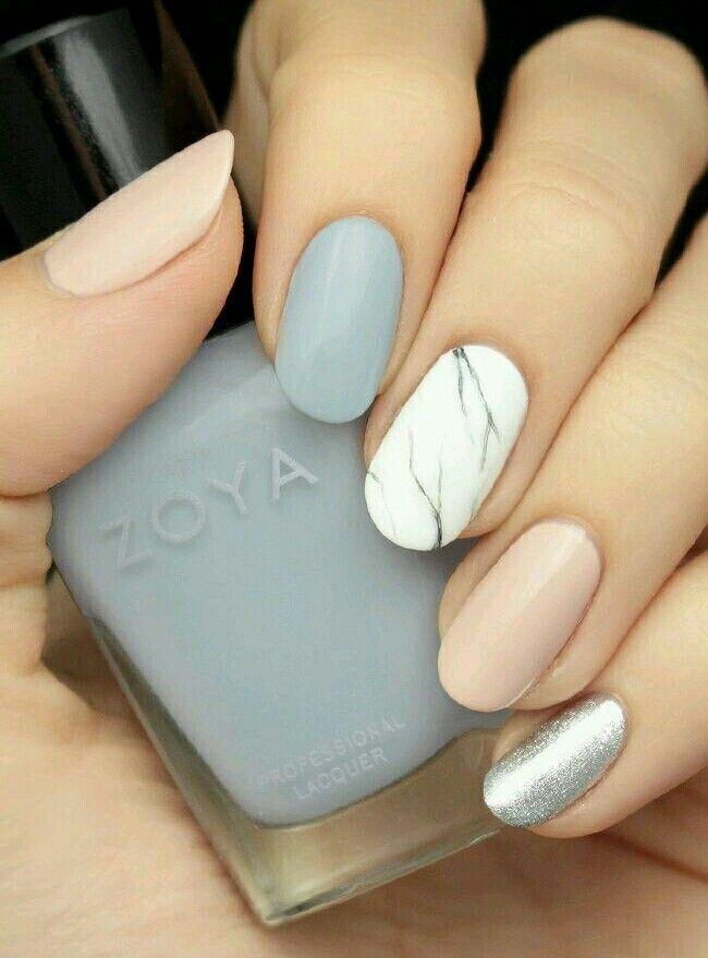 Mamor nail design