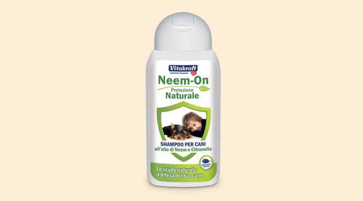 Shampoo antiparassitario | Neem-On, shampoo agli estratti di Neem e Citronella ideale contro pulci, zecche e zanzare!