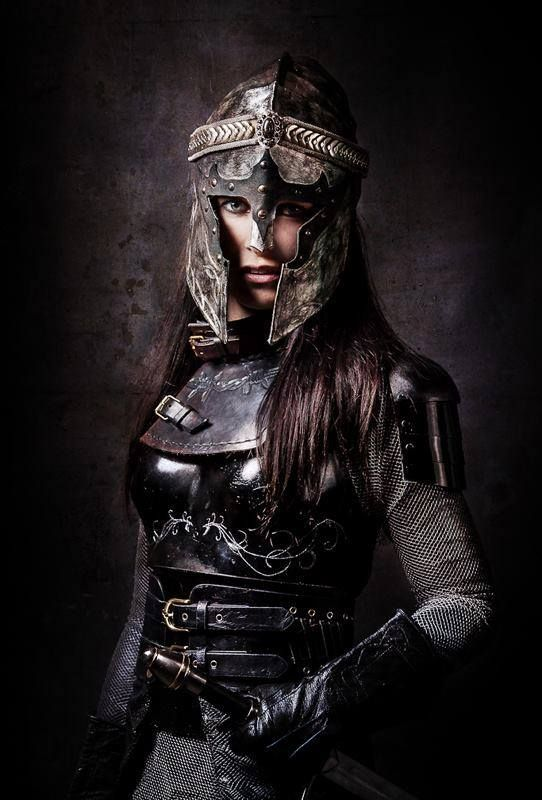 Alinora Mynerva. This is something she would wear into battle--like when the resistance marches off to battle.