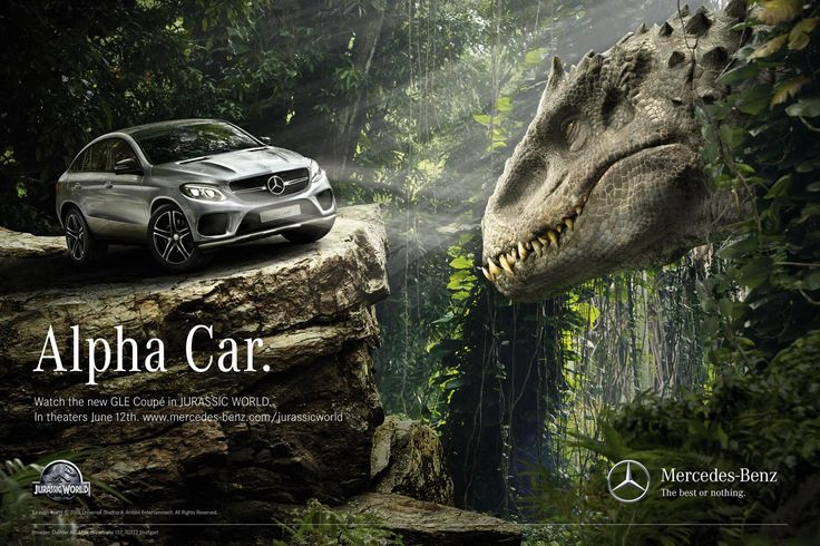 """Mercedes will have at least four car models in the new movie """"Jurassic World"""" (VIDEO). Probably many of you readers at allautoExpert.com, remember well the movie """"The Lost World: Jurassic Park"""". Then, about 18 years ago, around 1997, they started the first SUV model from M-Class range, Mercedes-Benz ML, which played a very important role in this movie. Now the history..."""