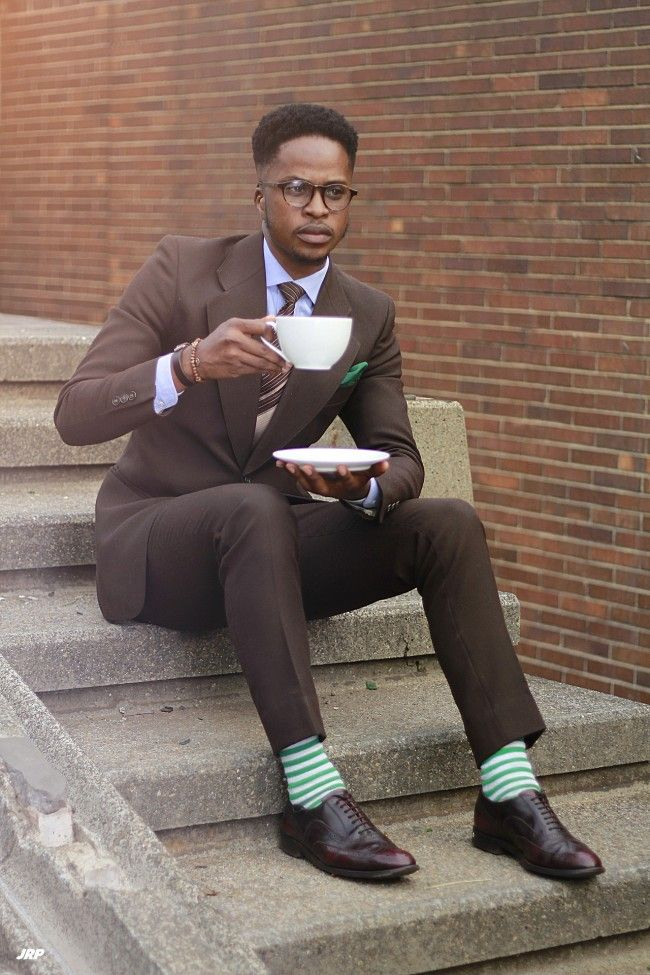 Love the extra of color ~ Trashness // Men's fashion blog