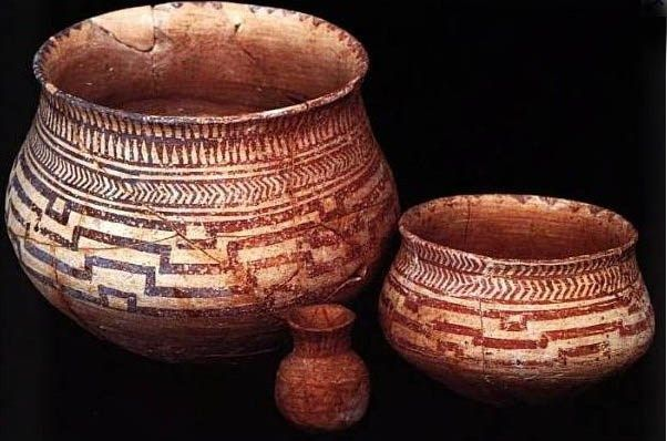 The pottery of ancient Tell Halaf of Mesopotamia and my ceramics
