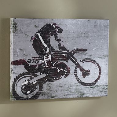 79 best colson bedroom ideas images on pinterest child for Dirt bike bedroom ideas