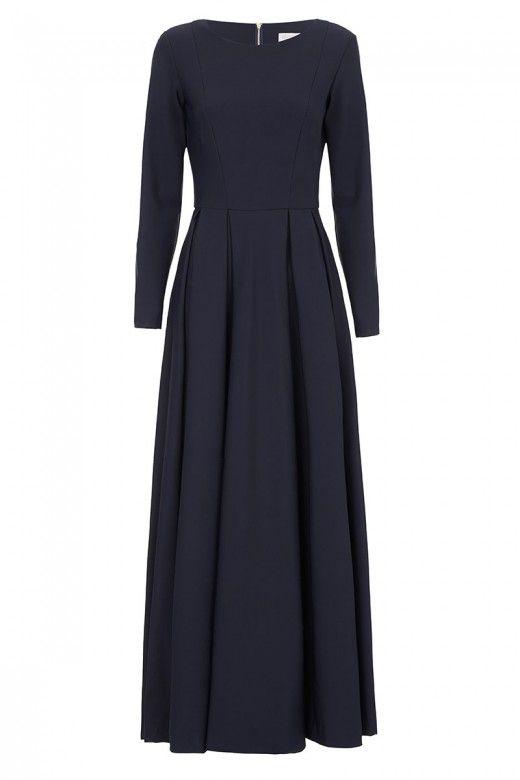 Diana-Kotb-Touring-Dress-Navy-01