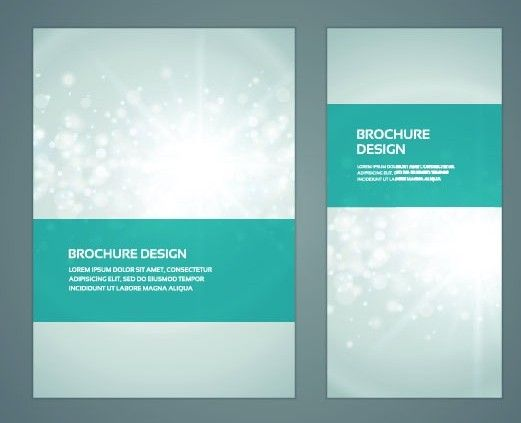 creative business brochure cover design vector 02