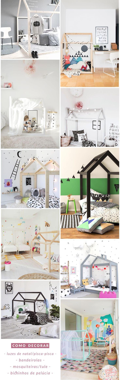 Cama-casinha:  10 inspirações para o quarto do seu filho