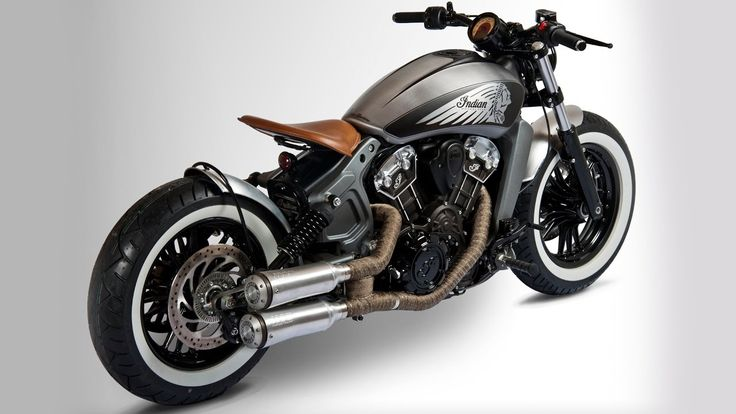 2017 Indian Scout Sixty Motorcycle Custom Thunder Black ...