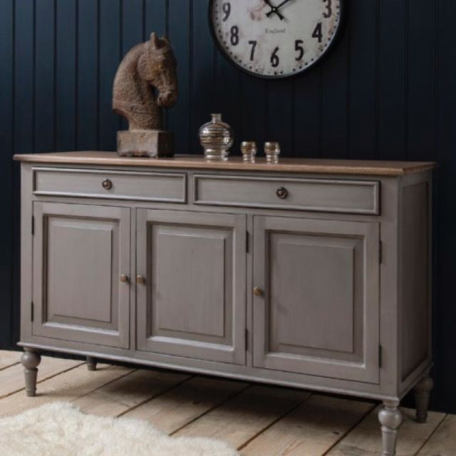 Gallery | Maison sideboard dark grey or cool grey 135x45x85
