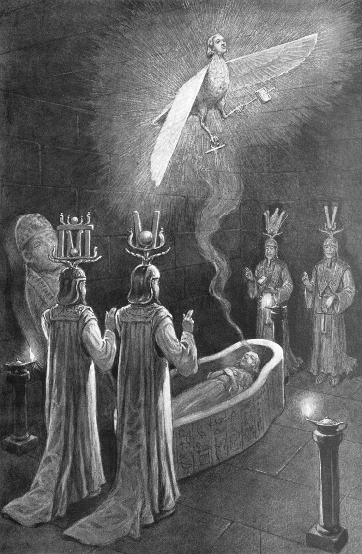 The artwork was done by famed occult artist John Augustus Knapp who illustrated Occult and Mystical Ideas to Manly P