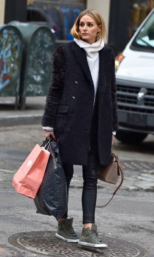 Olivia Palermo, ¿cuánto gastas en ropa durante el invierno? - Foto 4