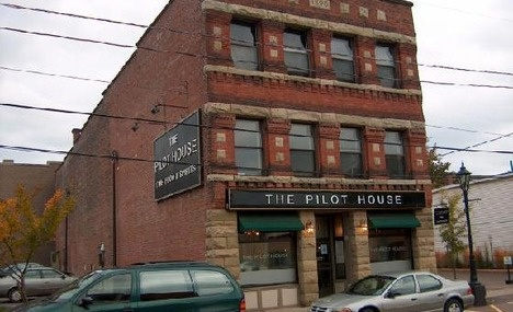 Pilot House......Warm Cajun Seafood Salad....yummmmmm