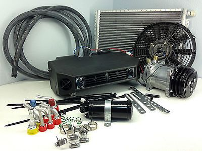 ac kit universal under dash evaporator compressor kit air conditioner 12v