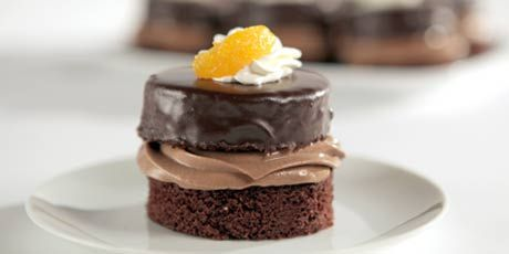 Orange Chocolate Silk Cake by Crystal Peach