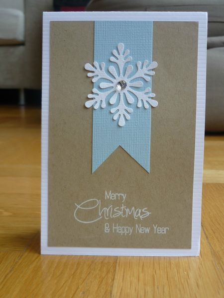 Christmas Card - ooo simple and v pretty