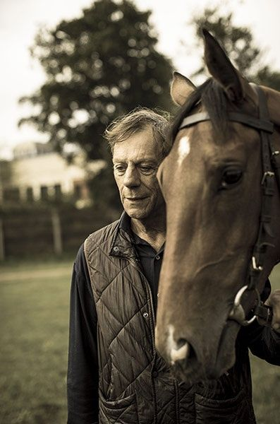 Sir Henry Cecil with Frankel.