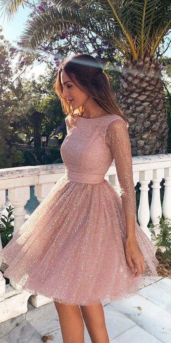 30 Wedding Guest Dresses For Every Seasons Style In 2020 Backless Homecoming Dresses Homecoming Dresses Long Pink Homecoming Dress