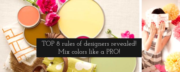 how to mix colors in interior - great summary of professional hacks. #mixcolors #colorpalette #interiordesign