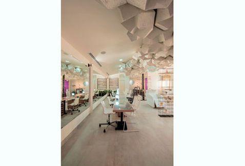 Un salón de belleza inspirado en las nubes - Grupo Milenio