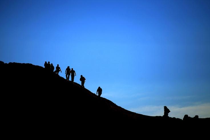 El Valle de la Luna es un paraje desértico ubicado a 13 km al oeste de San Pedro de Atacama, perteneciente a la Región de Antofagasta. En 1982 fue declarado santuario de la naturaleza.  Foto:Cesar Silva
