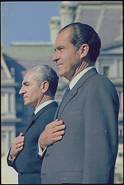 The Shah of Iran and President Richard Nixon, 10/21/1969