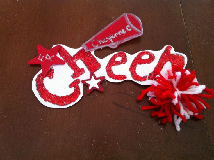 34 best images about Cheer Locker Decorations on Pinterest