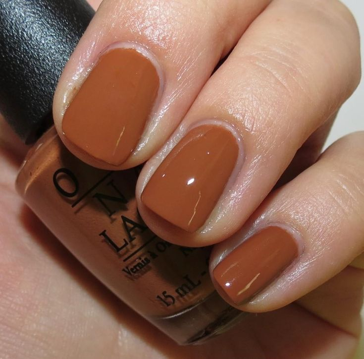 OPI: A-piers To Be Tan (opaque In 1 Coat)