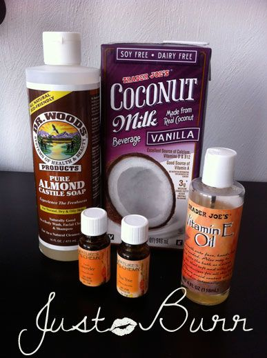 DIY-moisturizing coconut milk shampoo...better than any shampoo I've ever purchased