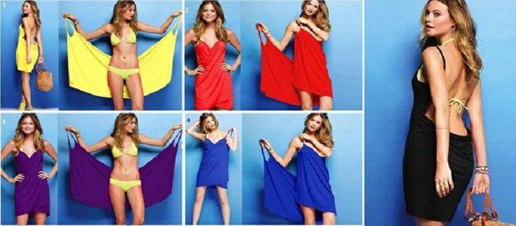Bu yaz, Plaj elbiseleri rengarenk olacak.