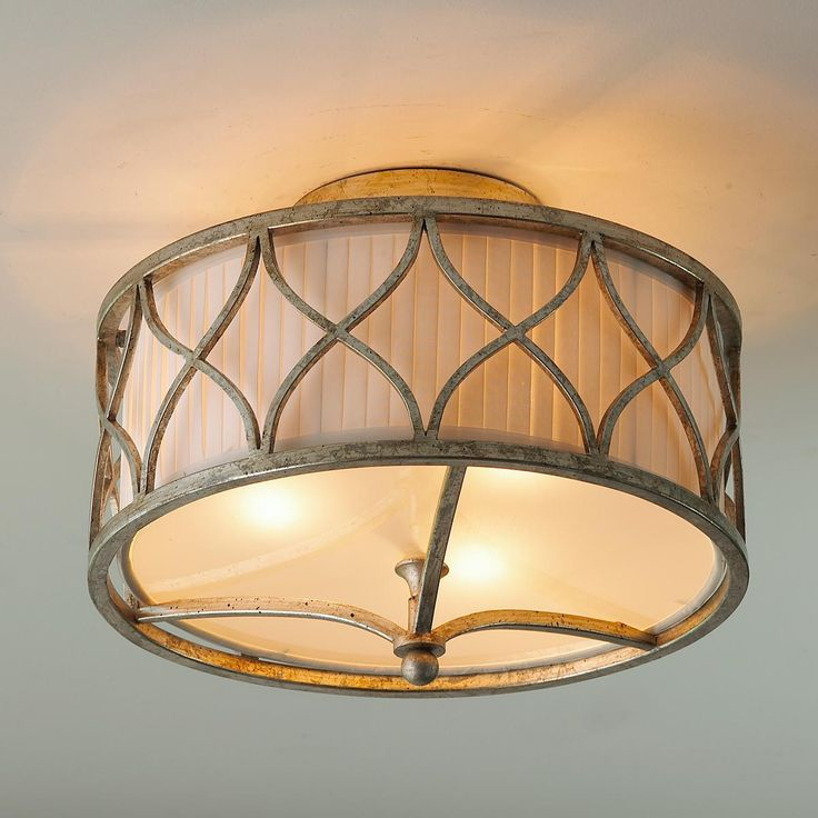 Harlequin Semi Flush Ceiling Light