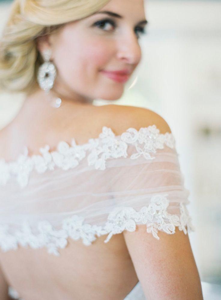 shoulder | lace | soft bridal up do | angel rivera | jess wilcox hair and makeup | jen huang photo