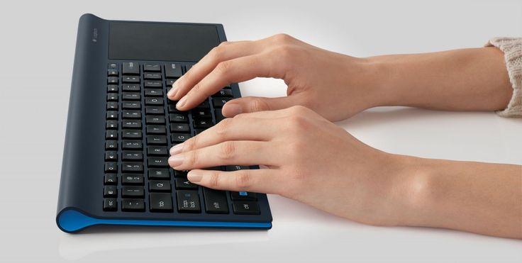 Logitech TK820 une teclado y trackpad multitáctil - FayerWayer