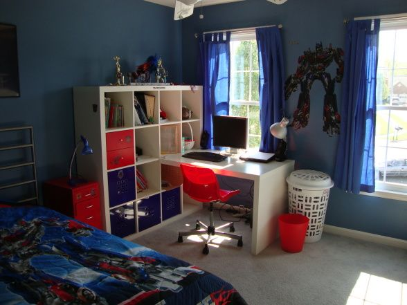 High Quality Transformers, Our Son Asked For A Transformers Based Bedroom And This What  I Came Up