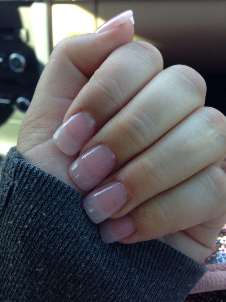 natural acrylic nails