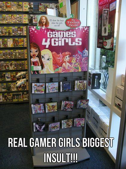 I'd never play those games! I wouldn't have played them when I was a kid if that had existed either!