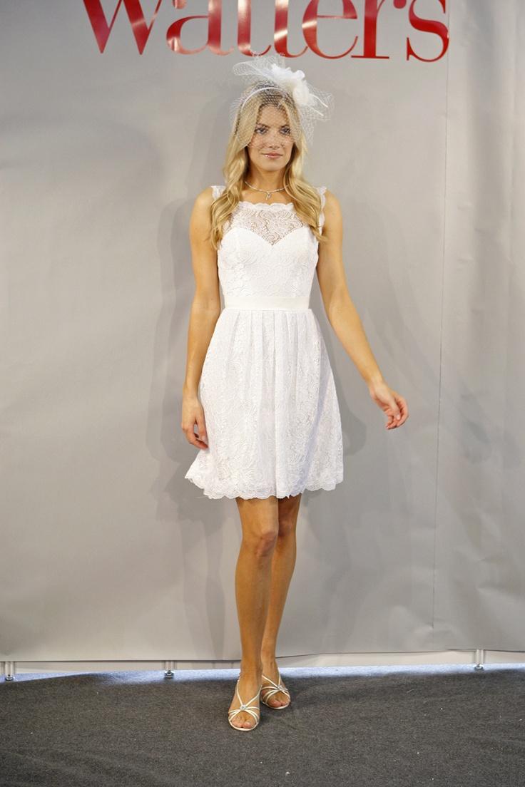 Reception dress. Encore by Watters.