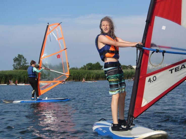Obozy windsurfingowe. #wakacje2015