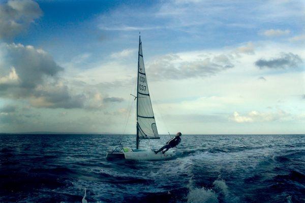 kim aldis's Photo: More Babbacombe Bay evening sailing. Who needs foreign holidays. | Lockerz