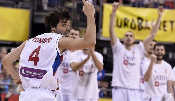 Πρώτη η Σερβία με σούπερ Τεόντοσιτς(video)