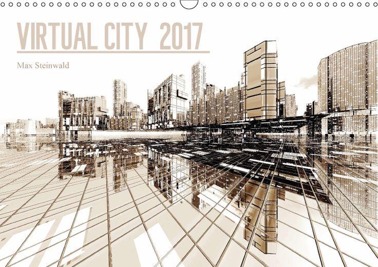 VIRTUAL CITY 2017 CH-Version Virtuelle Architektur - moderne Stadtansichten. VIRTUAL CITY - moderne Stadtansichten zwischen Minimalismus und Komplexität - ein absoluter Blickfang in jedem Raum oder Büro. Kalender mit Fest- und Feiertagen für die Schweiz.