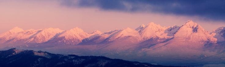 Sunset - Vysoké Tatry, Slovenská Republika