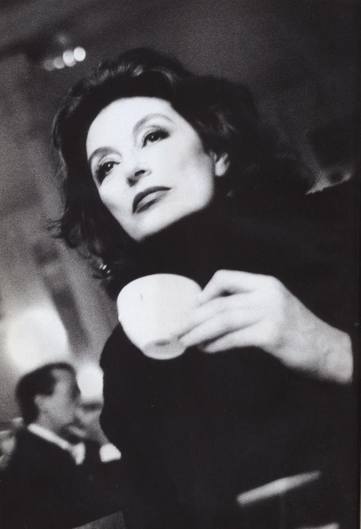 Anouk Aimée. Early 90s