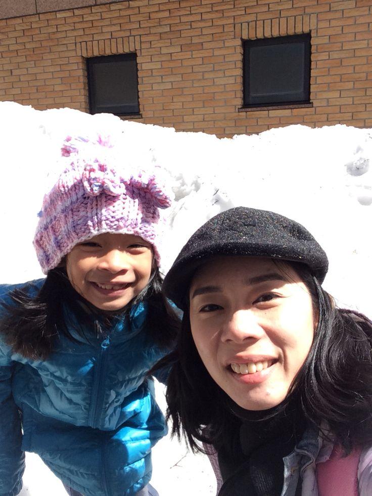 Snow...white...
