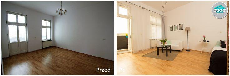 Metamorfoza mieszkania przy ul. Kujawskiej w Szczecinie