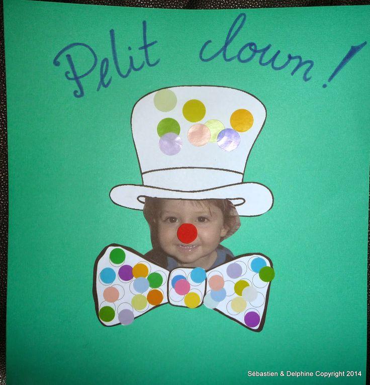 Chez Fantômette: Petit clown !