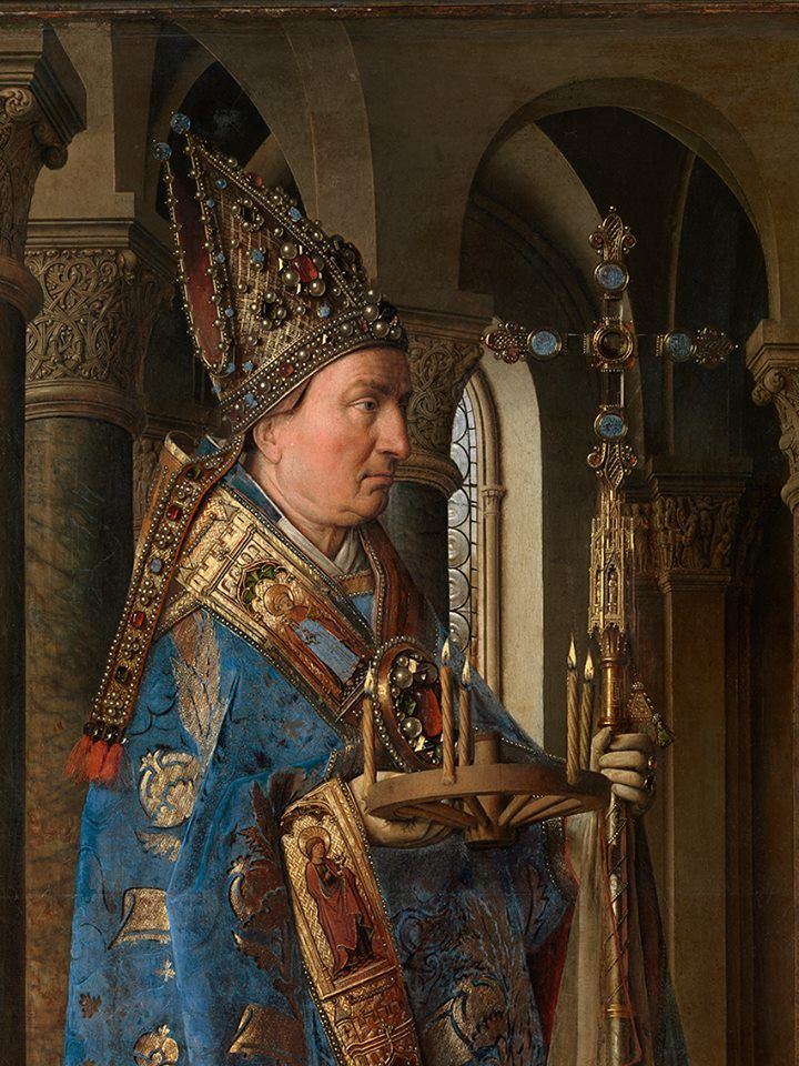 an analysis of jan van eyck s Discover flemish oil painter and portraitist jan van eyck, whose the 'adoration of the lamb' is the altarpiece for the church of st bavon, on biographycom.
