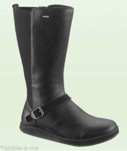NEW #Adult #Women's #Chaco Mara #Waterproof #Boot #Shoe #Black Size 7 Sale #Zipup $135.88