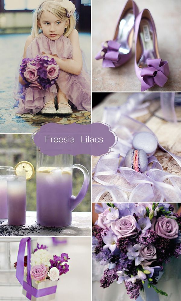 freesia+lilac+inspired+2015+may+wedding+color+ideas 2015 may wedding colors