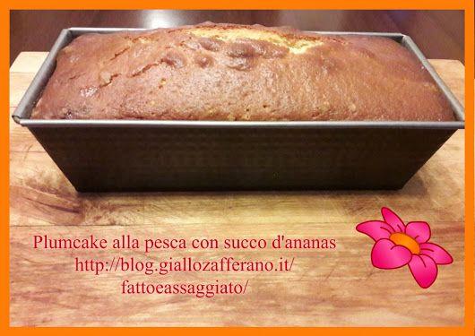 http://blog.giallozafferano.it/fattoeassaggiato/plumcake-alla-pesca-succo-dananas/ - Rita Pascale - Google+